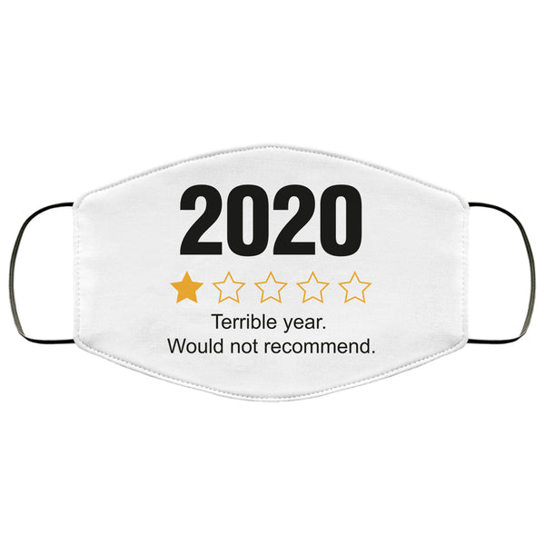 2020 Review Covering 2020 Would Not Recommend 2020 Sucks Bandana 2020 One Star