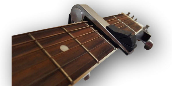 Guitar Capo and Pick Holder Combo