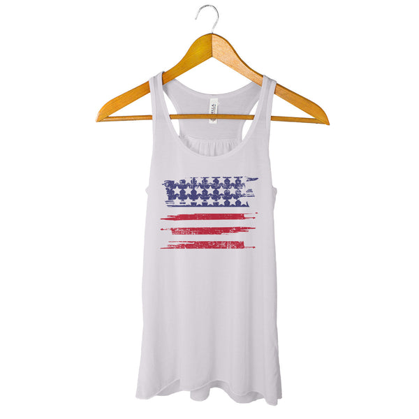 Womens 4th of July tank