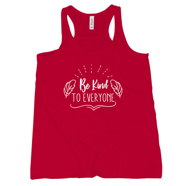 Be Kind to Everyone Kindness Tank Women Choose Kind Tank Top Women