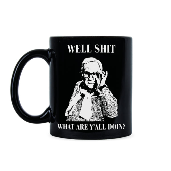 Leslie Jordan Mug What Are Yall Doing Coffee Mug