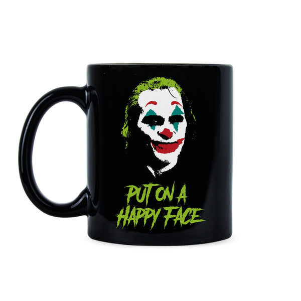Joker Coffee Mug Joker Put on a Happy Face Joker Joaquin Mug