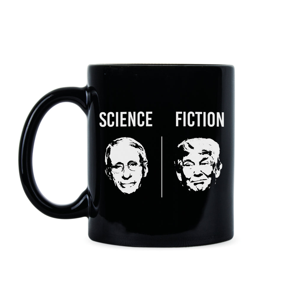 Fauci Science Mug Dr Fauci Coffee Mug Dr Fauci Cup Science Over Fiction