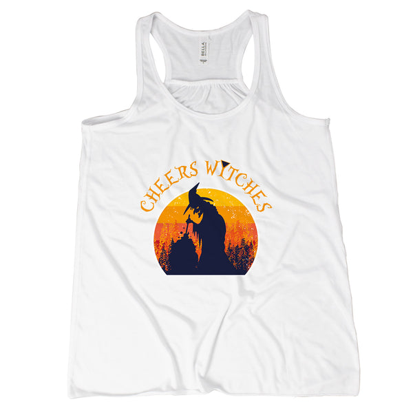 Cheers Witches Tank Top Witches Tank Top Witch Tank Tops for Women