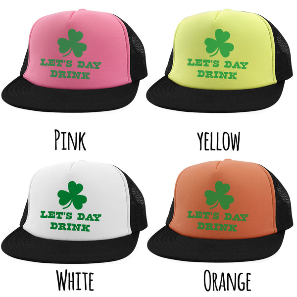 Lets Day Drink Hat Funny St Patricks Day Hats St Paddys Hat