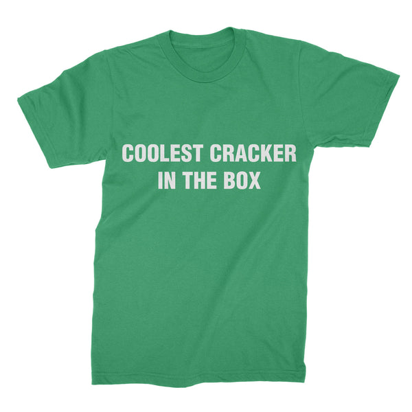 Coolest Cracker in the Box T-Shirt Coolest Cracker in the Box Shirt Coolest Cracker Box Clothing