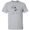 Guitar T Shirt - Cool Vitruvian Rocker Design T-Shirt for Artist or Musician Tee 2