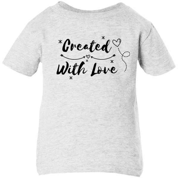 Created With Love Infant Short Sleeve T-shirt