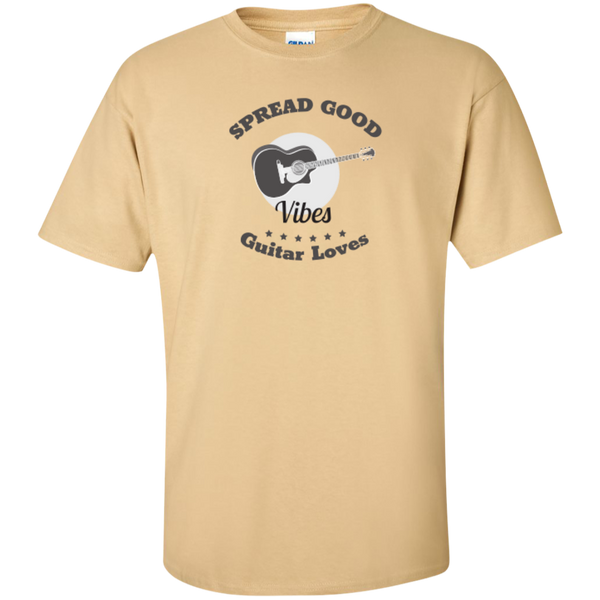 Spread Good Vibes Guitar Loves T-Shirt