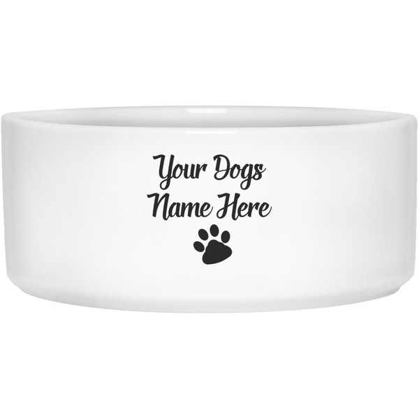 Custom Pet Bowl - Create your own Dog or Cat Dish - Food Dish for Our Fur-Kids