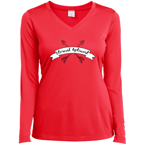 Eternal Optimist Ladies Long Sleeve