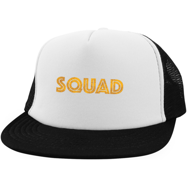 Squad Gold Trucker Hat