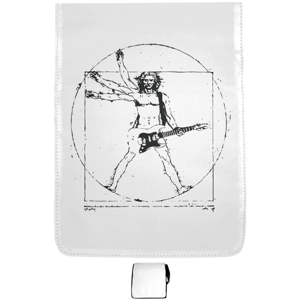 Vitruvian Rocker Guitar Medium Music Shoulder Bag