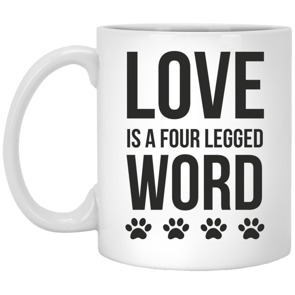 Love is four legged word