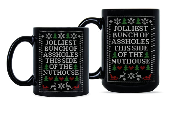 Jolliest Bunch of A-Holes Mug Christmas Vacation Coffee Mug