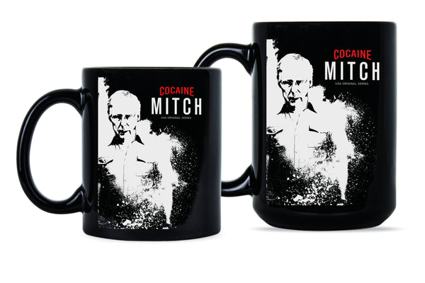 Cocaine Mitch Coffee Mug Ditch Mitch Funny Mitch McConnell Mug