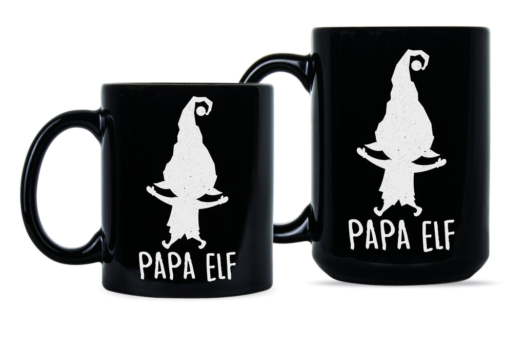 Christmas Mugs.Papa Elf Mug Christmas Mugs For Dad Papa Christmas Gifts Papa Elf Coffee Mug