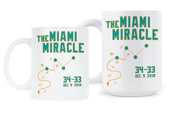 Miami Miracle Mug 34 33 Miami Miracle Coffee Mug