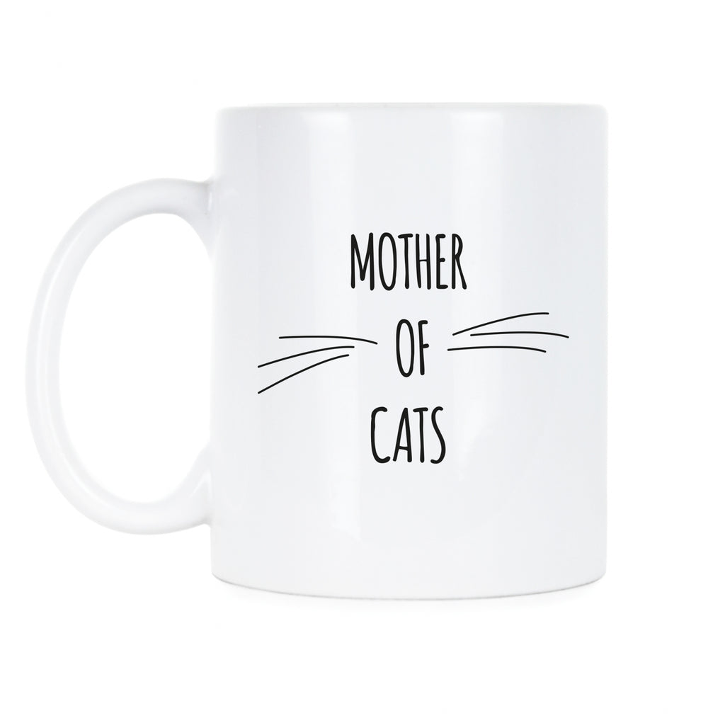 Mother Of Cats Coffee Mug Cat Mom Mug Cat Mama Mug