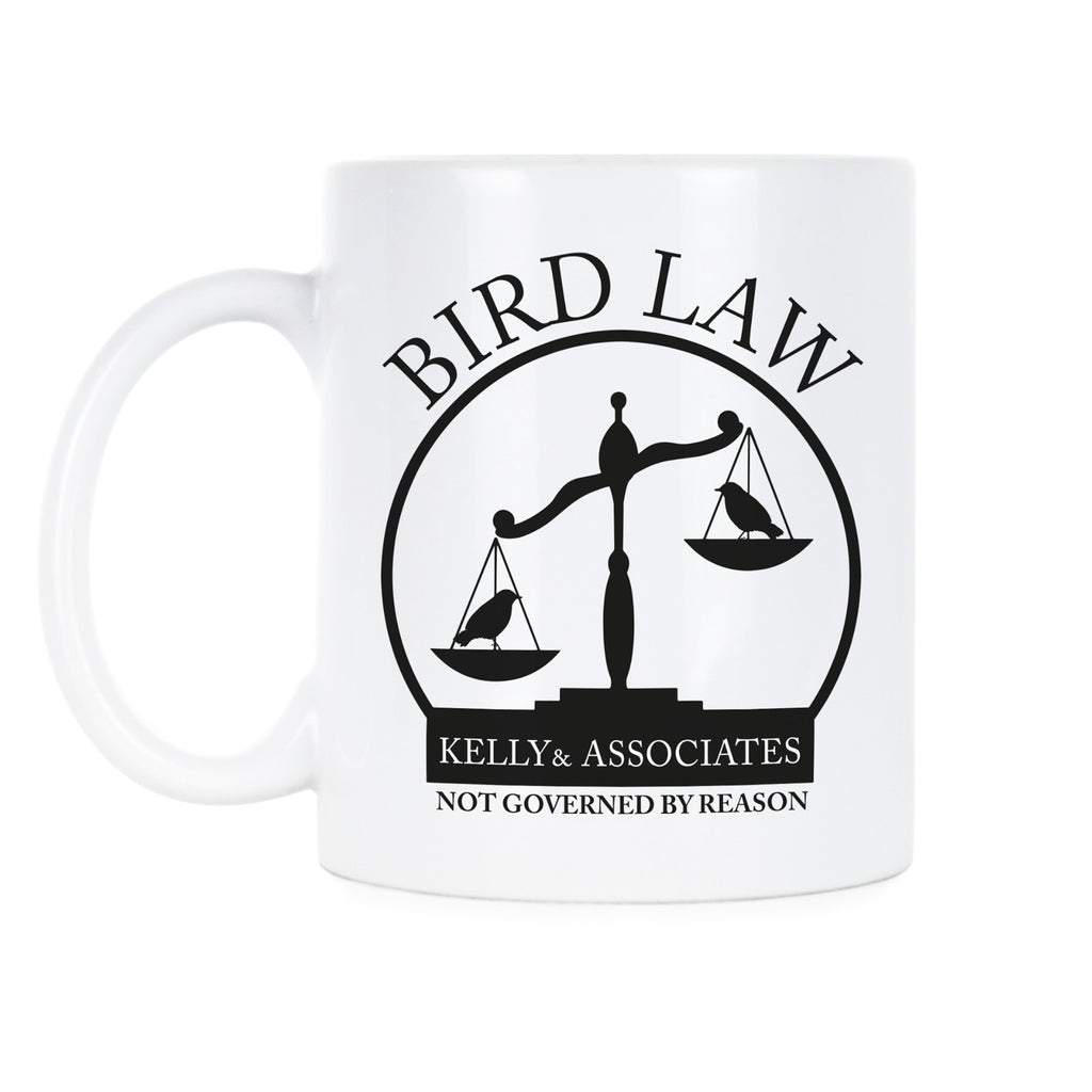 Bird Law Customer Mug