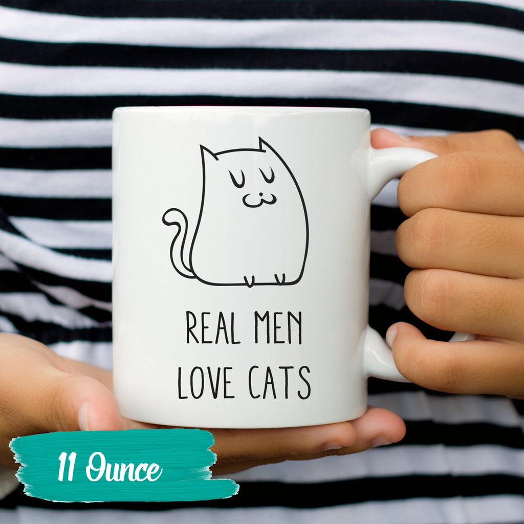 Funny Mug Silly Coffee Sayings Funny Coffee Real Men Love ...
