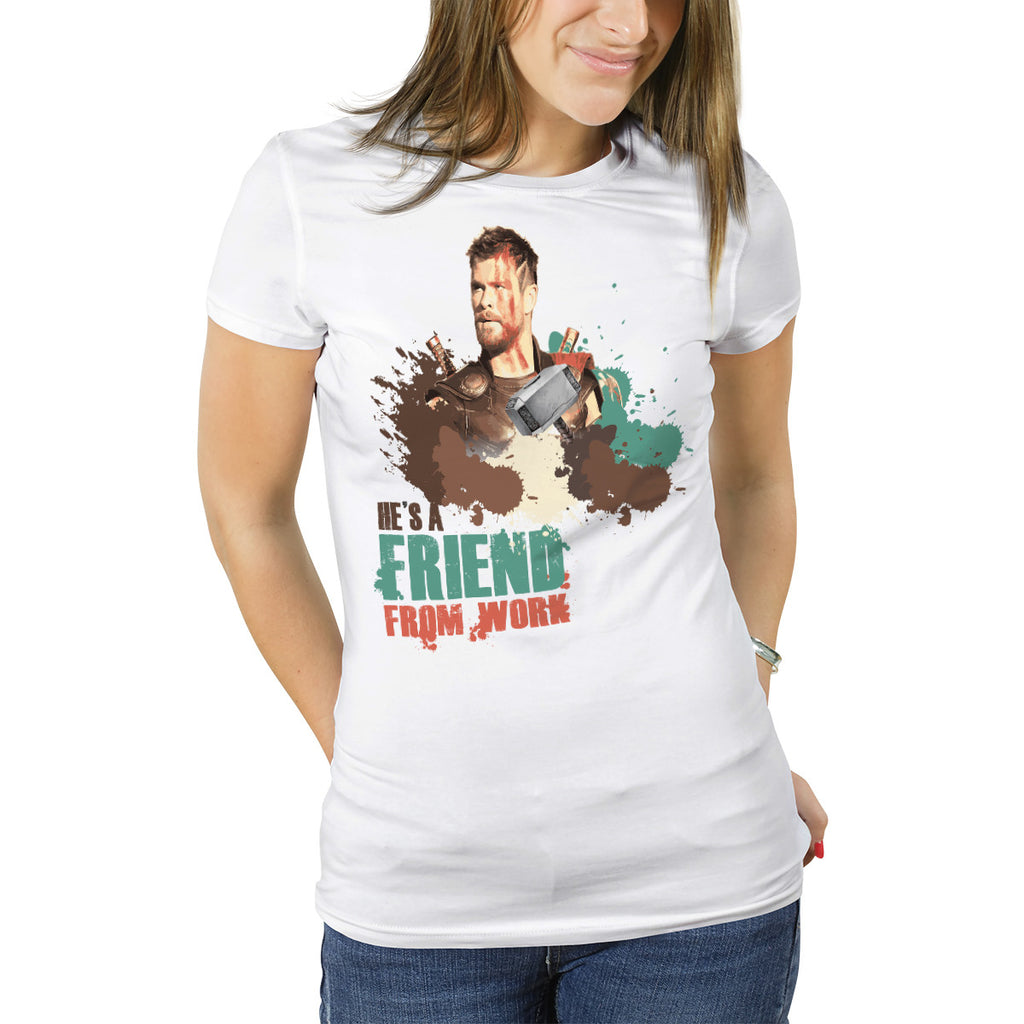 THOR - Friend from Work Boyfriend T-Shirt