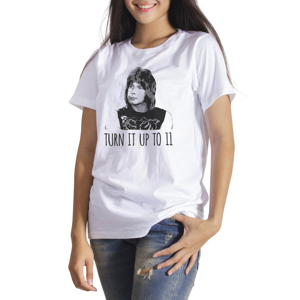Nigel Tufnel Shirt Turn It Up to 11 Shirt Funny Rock N Roll Shirts