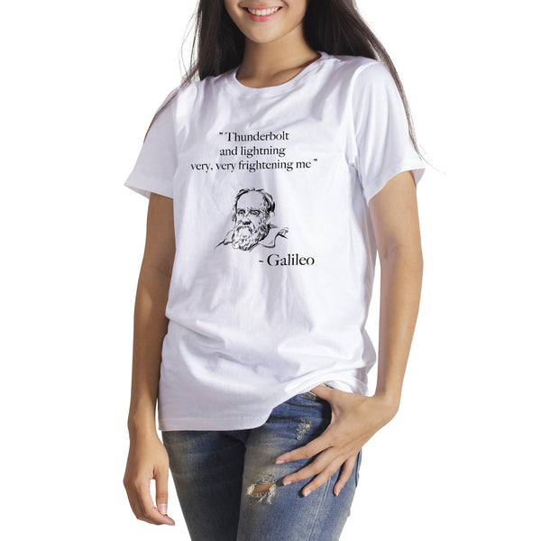 Galileo T Shirt Thunderbolt and Lightning Galileo T Shirt