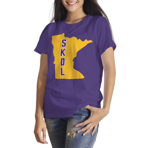 Minnesota Vikings T-Shirt Skol Vikings Shirt Vikings Football Playoffs Tee Vikings Clothing