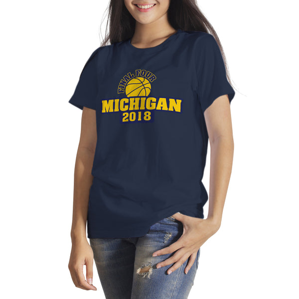 Michigan Final Four Shirt Go Blue Michigan Basketball