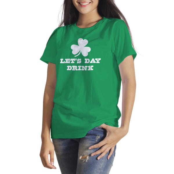 Lets Day Drink St Patricks Day Shirt Funny Day Drinking Shirts St Paddys Shirt