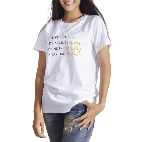 Live Like Rose Dress Like Blanche Shirt Golden Girls Shirt