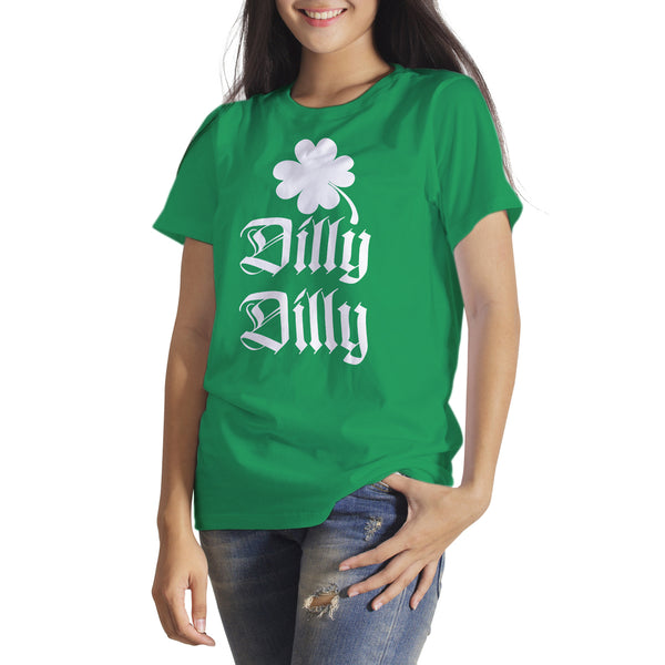 St Patricks Day Dilly Dilly Shirt Dilly Dilly St Paddys Irish T-Shirt St. Patrick's Day Beer Drinking Tshirt