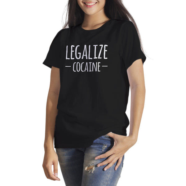Legalize Cocain Shirt Cocaine Anti War on Drugs Shirt