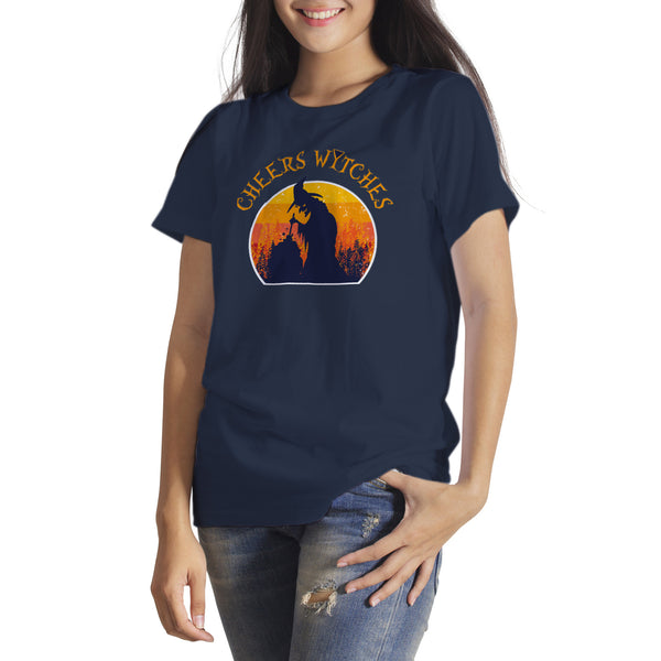Cheers Witches Tshirt Funny Witches Tee Shirts Funny Witch Shirt
