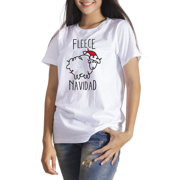 Fleece Navidad Shirt Sheep Christmas Shirt