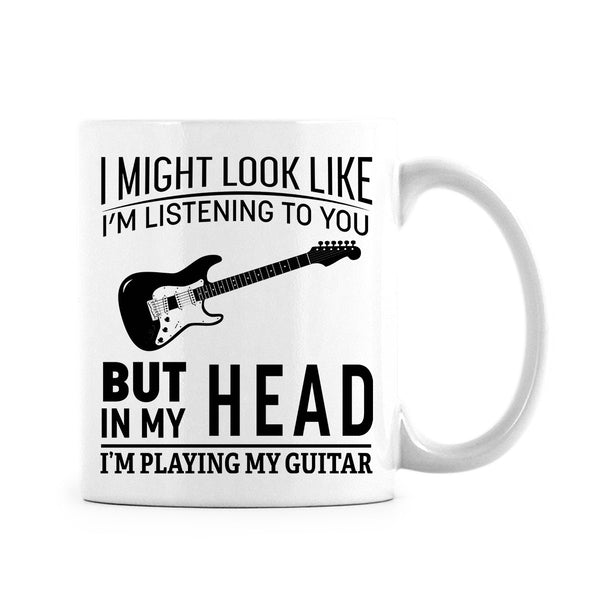 I'm Playing My Guitar Mug Unique Gift for Musician or Music Lover