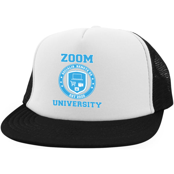 Zoom University Hat Social Distancing Hat