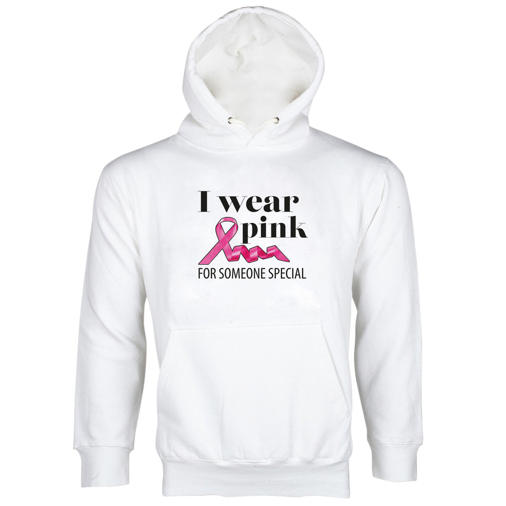 I Wear Pink For Someone Special Hoodie Breast Cancer Awareness Hoodie