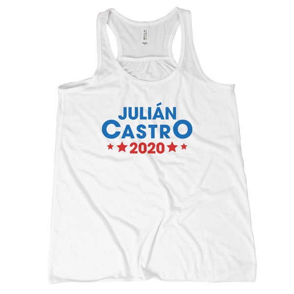 Julian Castro For President Tank Womens Vote Democrat 2020 Julian Castro Shirt