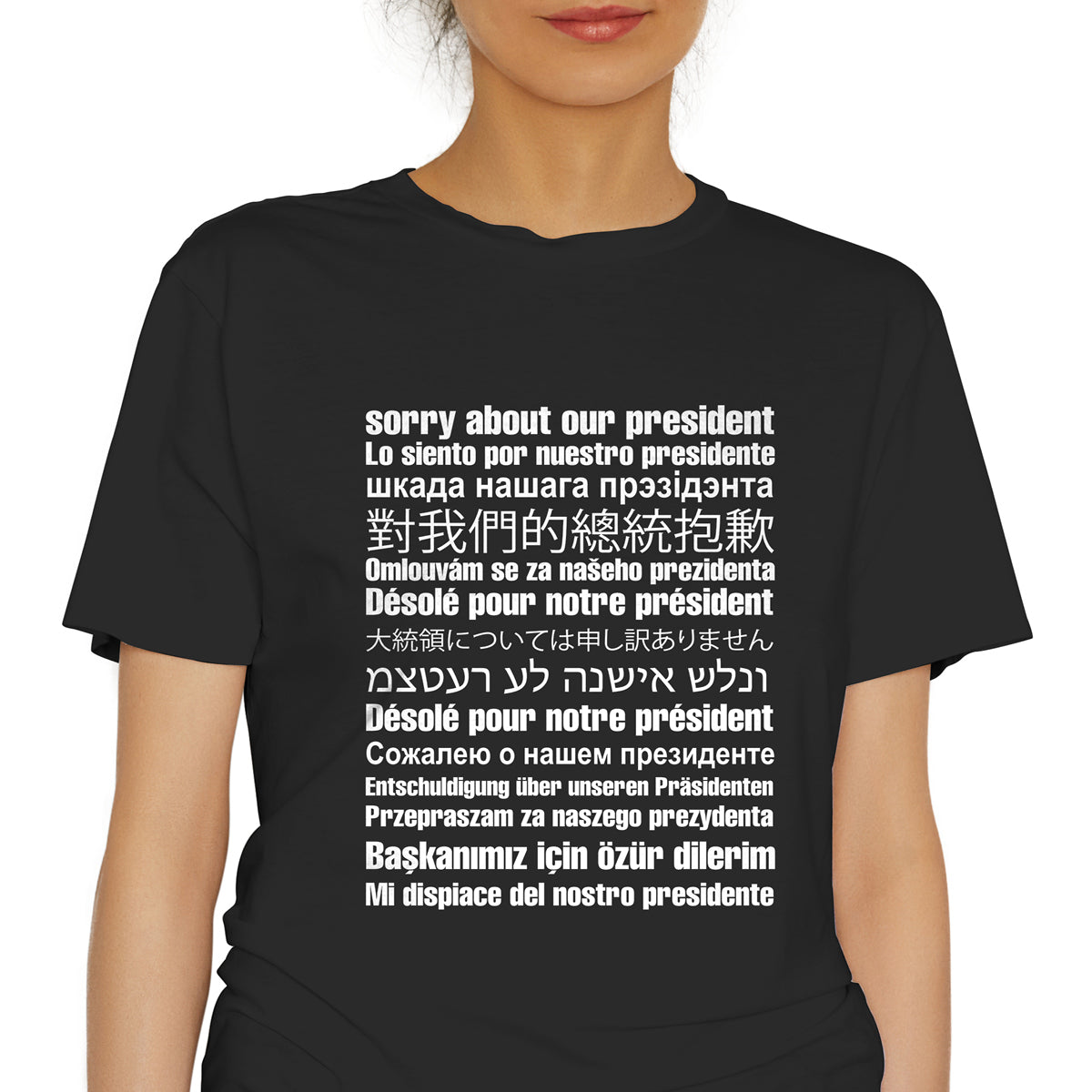 Sorry About Our President Anti Trump Clothing Anti Trump Tee Shirt Anti Trump Sorry About Trump T Anti Trump Shirt Anti Trump Gift Not My President T Not My President