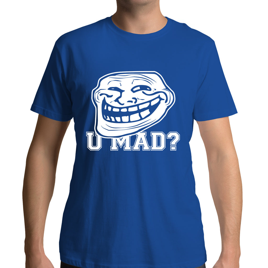 U Mad T-Shirt Funny Graphic Tee For Youth Boyfriend Clothes Mornings T-Shirt