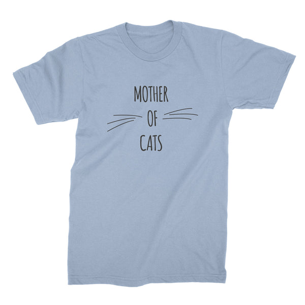 Mother Of Cats Tee Shirt Cat Mom Tshirt Cat Mother Shirt