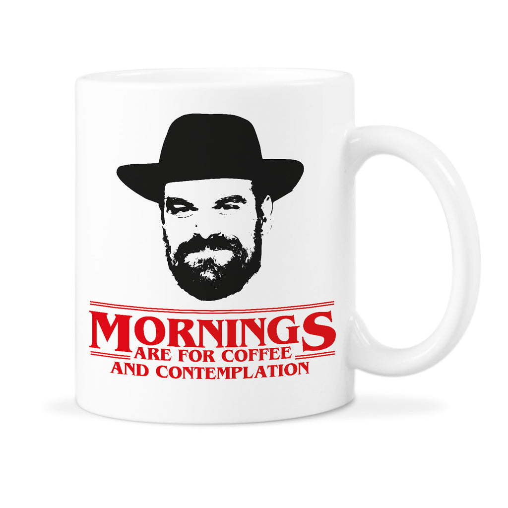 Stranger Things Mug Mornings Are For Coffee Contemplation Mugs Chief