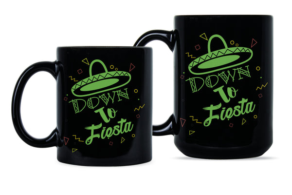 Down to Fiesta Bridesmaid Coffee Mug Bridesmaids Mugs Bachelorette Party Gifts