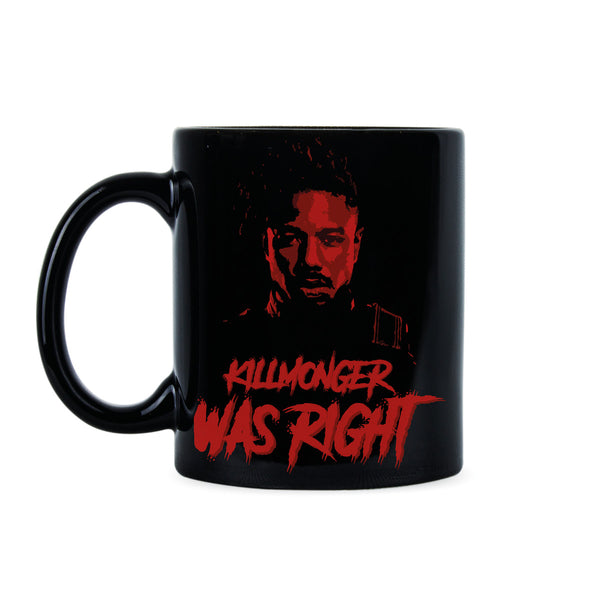 Killmonger Was Right Killmonger Coffee Mug Hey Auntie Mugs Erik Killmonger Gift Cup