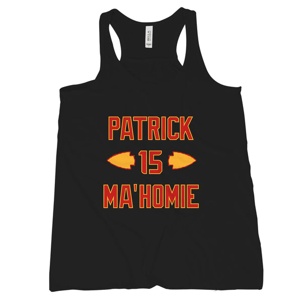 Patrick Mahomes Tank Top Chiefs Tanks Womens Patrick is Mahomie