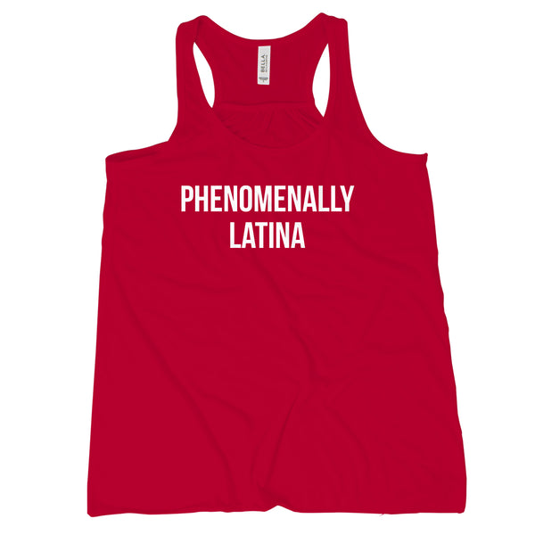 Phenomenal Latina Latina Tank Top for Women Phenomenally Latin