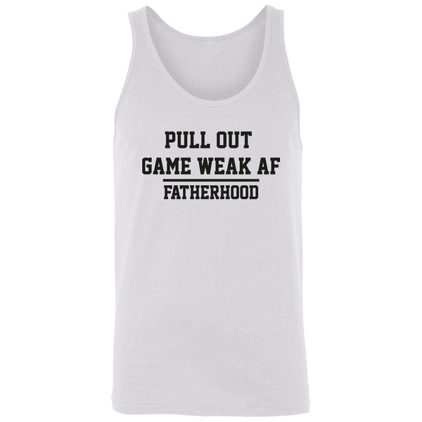Pull out game weak af Tank