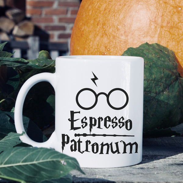 Harry Potter White Coffee Mug